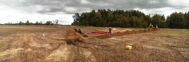 строительство гольф поля